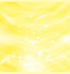 yellow burst blurred background vector image vector image