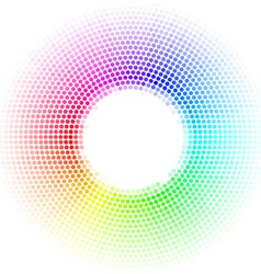 Dots digital form vector