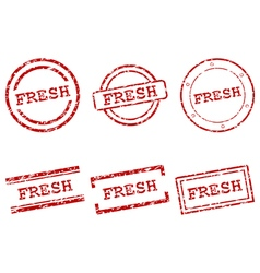 Fresh stamps vector