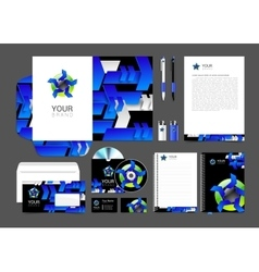 Set of corporate identity for your business logo vector