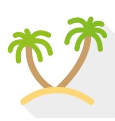 Palm tree vector