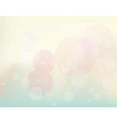 Abstract background lens flares vector