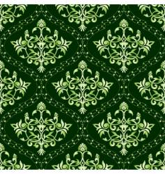 Indian floral pattern vector