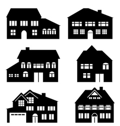 Houses construction and real estate vector