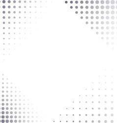 Corner halftone elements vector
