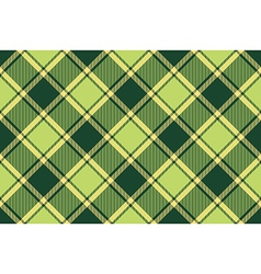 Green avocado tartan fabric seamless texture vector