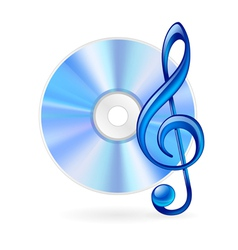 Music icon vector