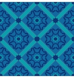 Geometric seamless pattern diamonds vector