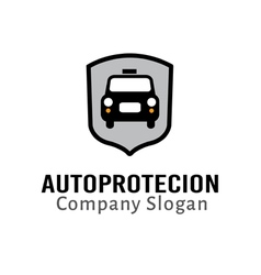 Auto protection design vector