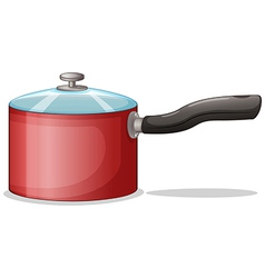 A cooking pot vector image vector image