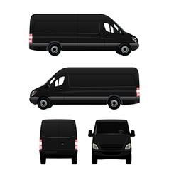 Cargo Van vector image vector image