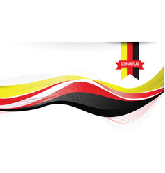 german flag background vector image