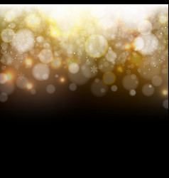 golden and black background vector image
