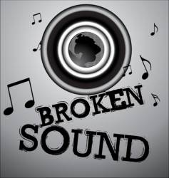 music illustration vector image vector image