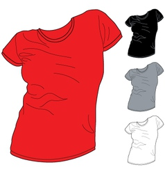 Shirt pack 2 vector image