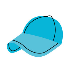 Sport baseball cap fashion accessory protection vector