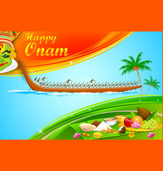 Onam Wallpaper vector image