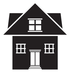 House icon3 resize vector image