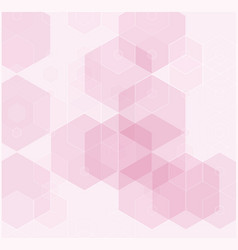 abstract modern tech hexagon texture design vector image vector image