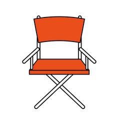 directors chair design vector image