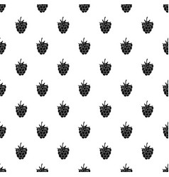 raspberry or blackberry pattern vector image