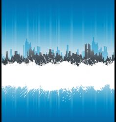 Urban white splatter stripe background vector