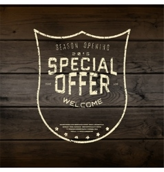 Special offer badges logos and labels for any use vector