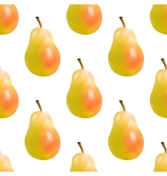 Yellow pear seamless vector