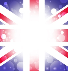 British background abstract england flag vector