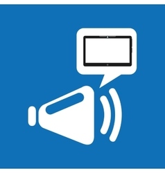 Cloud device speaker media apps graphic vector