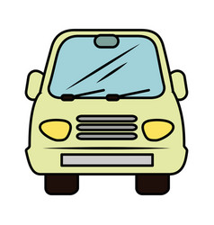 Isolated particular car vector