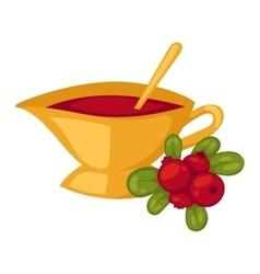 Tea symbol vector