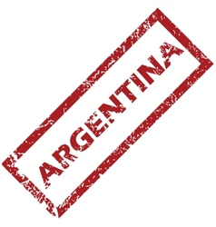 New argentina rubber stamp vector