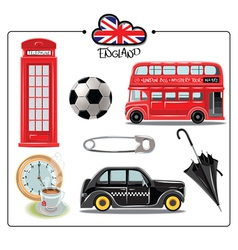 England vector image