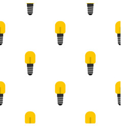 Small incandescent lamp pattern seamless vector