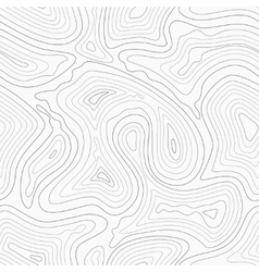 Topographic contour lines map seamless vector image