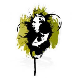 friedrich nietzsche design vector image
