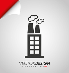 buildings icon design vector image vector image