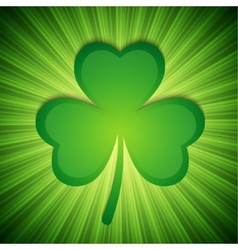 Clover background vector image