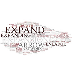 Expand word cloud concept vector