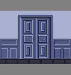 The door vector image