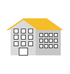 House residence property real estate architecture vector