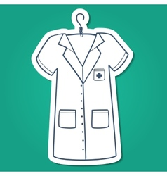 Nurse doctor or other medical staff uniform vector