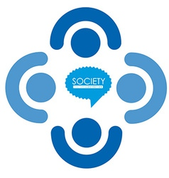 Society design vector