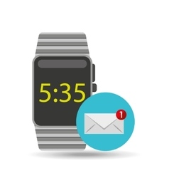 Smart watch technology with message receiving vector