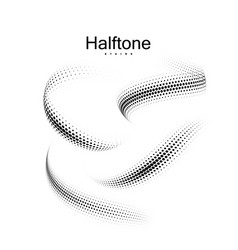 Halfton 3d shapes collection vector