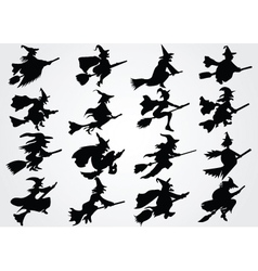 Witches vector