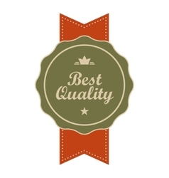 Best quality vintage banner vector