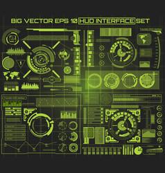 abstract future concept futuristic blue vector image vector image