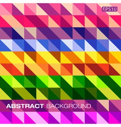 Colorful geometric pattern for your design vector image vector image